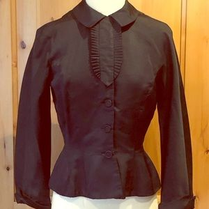 Antique blouse.  Very deep blue in color.